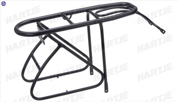 """TERN Gepäckträger """"Loader Rack""""; 20"""", Aluminium 6061, Tragfähigkeit: 25kg, Gewicht: 697g, schwarz, mit Spannband"""