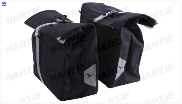 """TERN Doppeltasche""""Cargo Hold 37 Panniers""""; Passend für TERN GSD und HSD, Paar, 74l Gesamtvolumen; Faltbar, wasserabweisendes Material. Befestigung am"""