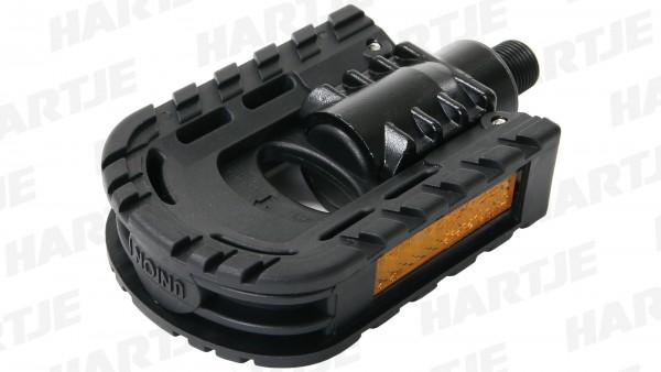 TERN Faltpedal, schwarz, Kunststoff, passend für Verge N8