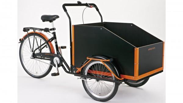 "PFAU-TEC Transportrad ""Jumbo"" Mod. 21, Unisex, 20 / 26"", schwarz, 3-Gang SHIMANO ""Nexus"" RBN, 40cm"