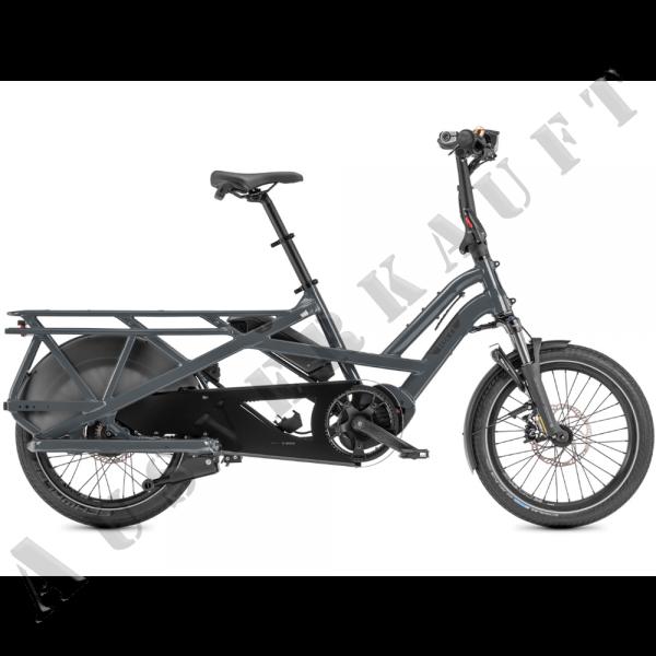 "TERN Elektro-Cargorad ""GSD S00"" Mod. 21, Unisex, 20"", gloss blue grey, ENVIOLO"