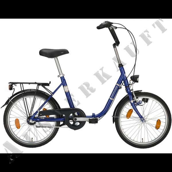 """EXCELSIOR Klapprad """"Klapprad"""" Mod.20, Unisex 20"""", true blue, 1-Gang RBN, Rahmenhöhe 40 cm"""