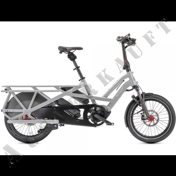"""TERN Elektro-Cargorad """"GSD R14"""" Mod. 21, Unisex, 20"""", gloss forge grey, 14-Gang ROHLOFF """"Speedhub E-"""