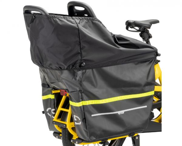 """TERN Transportbox """"Storm Box""""; Verwandelt den Gepäckträger des GSD in ein geräumiges, wetterfestes Transportbehältnis. Schützt bis zu zwei Kinder, mit"""