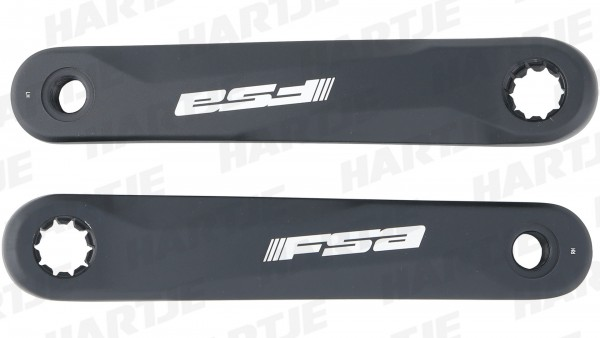 TERN Kurbelsatz; Rechts und links, 170mm Kurbellänge, schwarz, Bosch Performance, FSA, ISIS, passend für Vektron S10