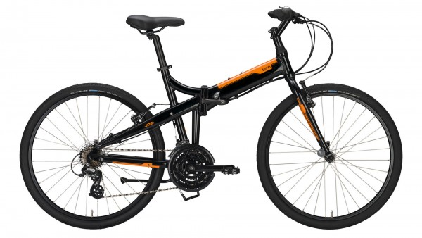 "TERN Faltrad ""Joe C21 M"" Mod. 21, Unisex, 26"", black / orange, 21-Gang SHIMANO ""Altus"""