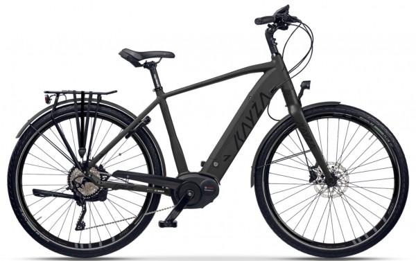 "KAYZA Elektro-Trekkingrad ""Talik Dry 7"" Mod. 21, Diamant, 28"", deep black matt / black glossy, 5-Gang SHIMANO ""Nexus Inter E"", 60cm"