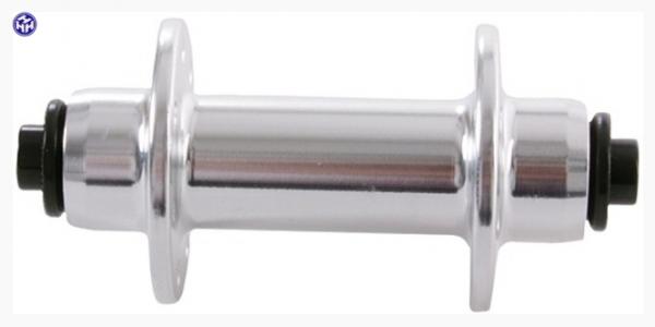 """TERN Nabe """"Kinetix Pro"""" QR, V.R., silber, 14 Loch, 74mm Einbaubreite, passend für Verge X10"""