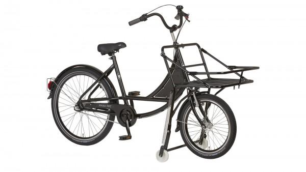 """PFAU-TEC Transportrad """"Kuli Basic"""" Mod. 21, Unisex, 20 / 26"""", schwarz, 1-Gang RBN, 50cm"""