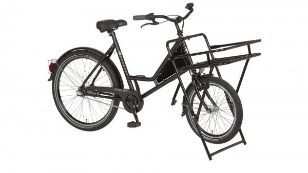 """PFAU-TEC Transportrad """"Porter"""" Mod. 21, Unisex, 20 / 26"""", schwarz, 1-Gang RBN, 56cm"""