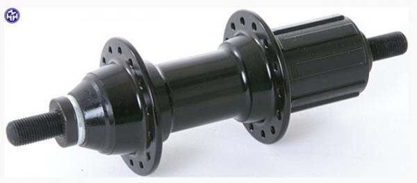 """TERN V.R.-Nabe, """"Mini"""", schwarz, 28Loch, 100mm Einbaubreite, QR, passend für Node D8"""