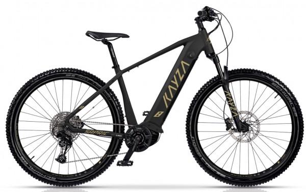 "KAYZA Elektro-MTB Hardtail ""Sapric 8"" Mod. 21, Hardtail, 29"", matt black / desert matt, 12-Gang SRAM ""SX Eagle"", 47cm"