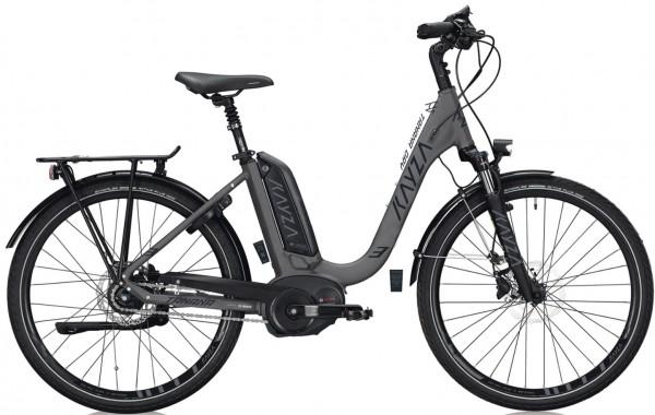"""KAYZA Elektro-Trekkingrad """"Tanana Dry 3"""" Mod. 21, Wave, 28"""", telegrey matt/ dark grey matt, 8-Gang SHIMANO """"Nexus"""", 55cm"""