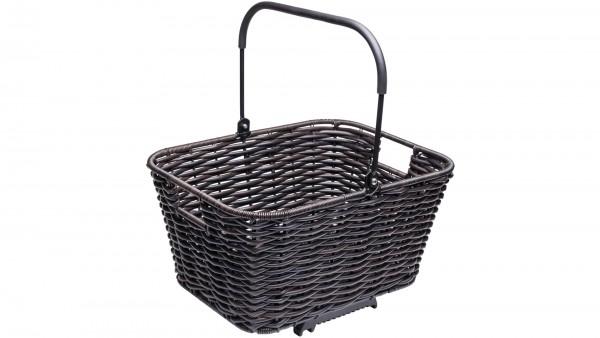 """TERN H.R.-Korb """"Market Basket""""; Maße (LxBxH): 34 x 45 x 27cm, Volumen 23l, Gewicht 1890g, max. Zuladung 10kg, mit Universalbefestigung TopKlip, aus Ku"""