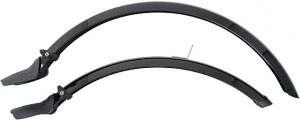 """TERN Schutzblechgarnitur; Kunststoff, 20"""", schwarz, 55mm breit, inkl. Streben"""