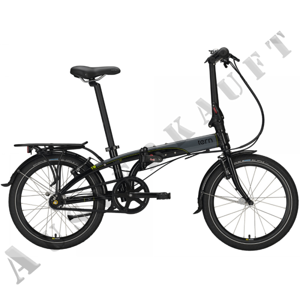 "TERN LINK D7I 20""; 7-G MR BLACK/GREY/GREEN"